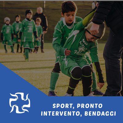 SPORT, PRONTO INTERVENTO, BENDAGGI